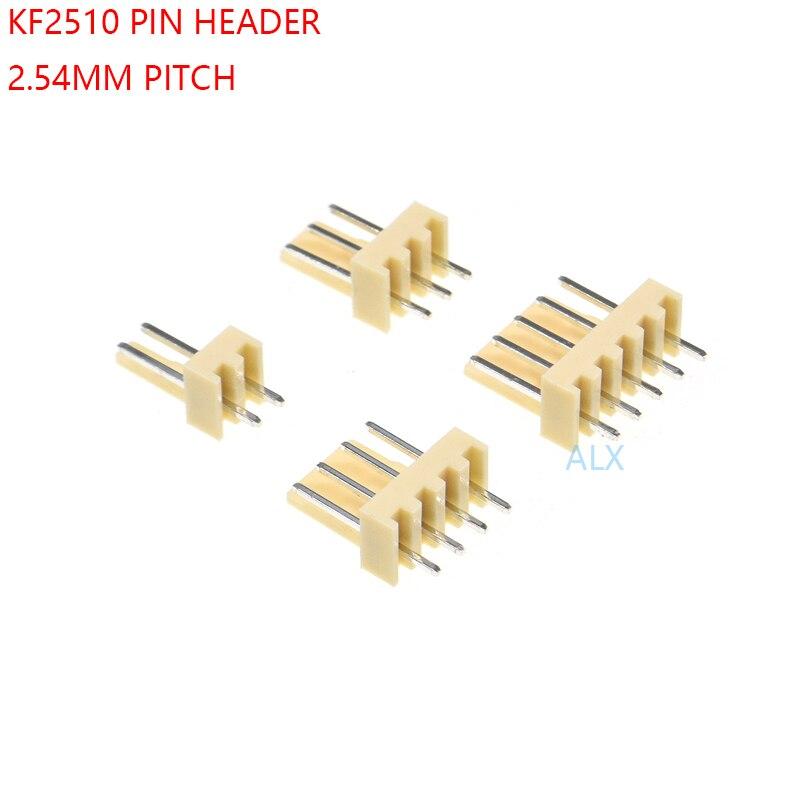 2P 3P 4P 5P 6P 8P 9P 10P 11P 12P 2.54mm KF2510 Right Angle Female Plug Connector