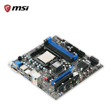 MSI 760GM-E51 Original Used Desktop Motherboard 760G Socket AM3 DDR3 16G SATA2 USB2.0 Micro ATX