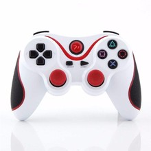 Bluetooth Wireless Double Shock Controller For PS3 Dual Vibration Joystick For Sony Playstation 3 Sixaxis Joypad(China)