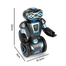 New arrival Intelligent Stunt  Robot Toy Wheel Load Balance Sensing Remote Control Model Dancing Electric Christmas Gifts