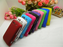 Matte Rubberized Anti-skid Style Various Color Case For HTC Wildfire S A510e G13 Ultra thin Hard Back Protective Case Cover