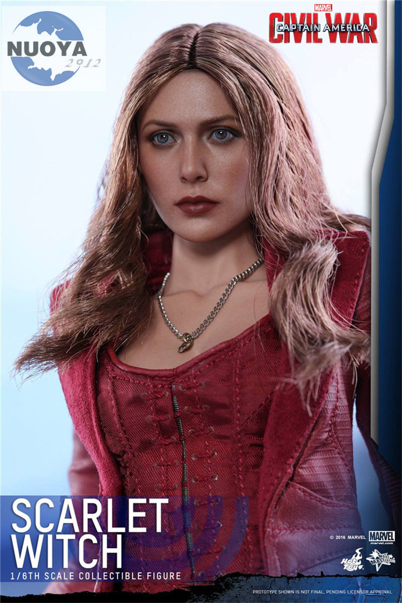 ZC TOYS 1/6 Elizabeth Olsen Scarlet Witch Head Sculpt  Head Play For 12 HT Action Figure Doll Gift Free Shipping<br><br>Aliexpress