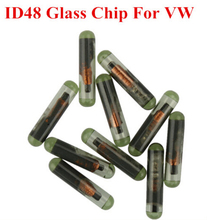 10pcs/lot Best Price For VW CAN System ID48 Glass Chip for VW ID 48 Transponder Chip Free Shipping