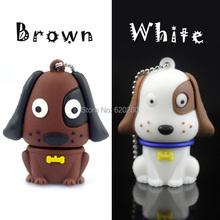64GB! Wholesale USB Pen drive cartoon dog pendrive, 4GB/8GB/16GB/32GB usb flash drive flash memory stick pendrive Free shipping