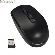 Beautiful Gift New 2.4GHz Wireless Optical Mouse/Mice USB 2.0 Receiver for PC Laptop Wholesale price Jan01(China)