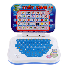 Learning Machine Toy Baby Kids Toys Plastic Study Game Intellectual Learning Song Mini PC Machine English and Chinese Language