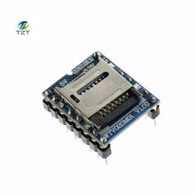 1PCS/LOT WTV020 WTV020-SD WTV020SD-20SS Mini SD Card MP3 Sound Module For PIC WTV020-SD-16P(China)