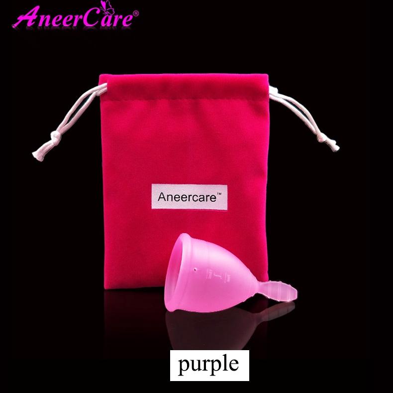 Menstrual cup Feminine hygiene products medical grade silicone copa menstrual lady menstrual copa mestrual menstruation cup 1Pcs 11