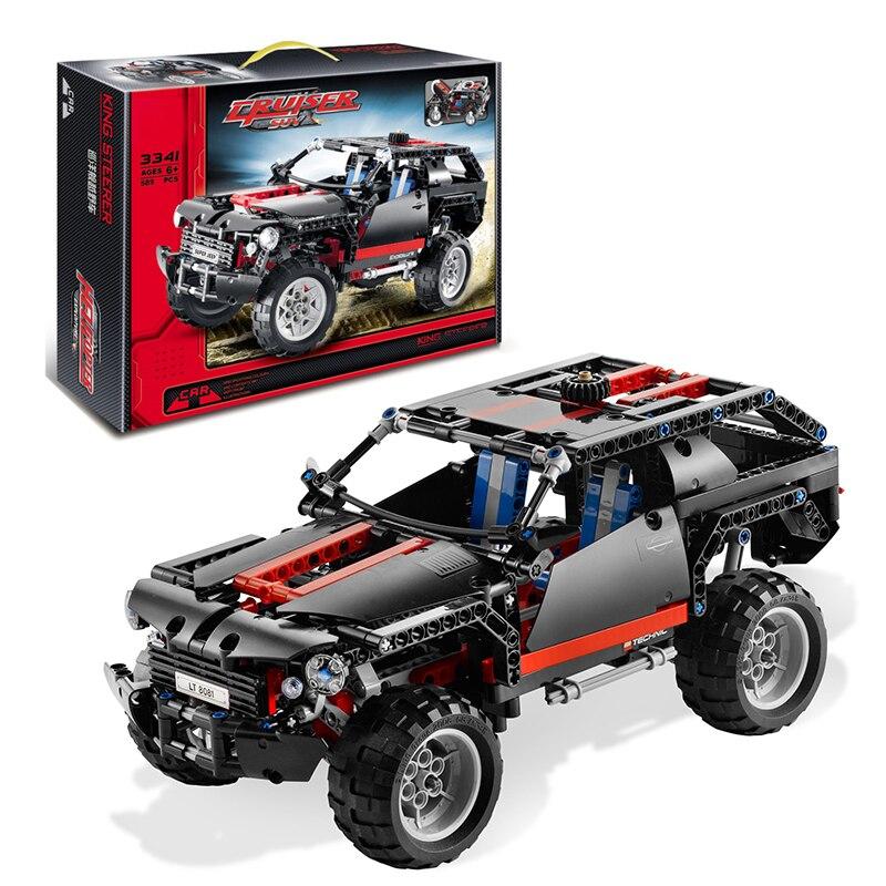 Decool 3341 Extreme Cruiser building bricks blocks New year Gift Toys for children Car Off Roader Lepin technic Bela 8081<br><br>Aliexpress