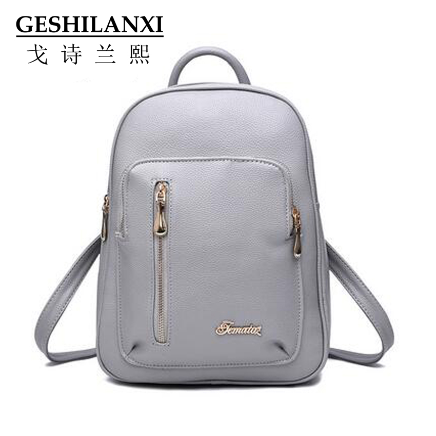 2017 famous brands women bags  preppy chic classic PU Material Zipper decorative personality<br><br>Aliexpress