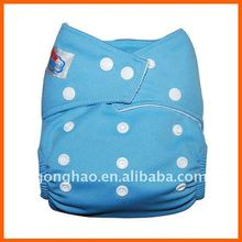 Plain colored babyland cloth diapers including microfiber inserts 20 pieces/pack(China)
