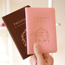New NEW Travel Utility Simple Passport ID Card Cover Holder Case Protector Skin PVC