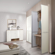 New Design Simple Wardrobe Designs Open Wardrobes for Small Rooms YG61401