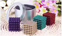 5mm 216pcs Magnetic Bucky Fidget Cube DIY Puzzle Buckyball Cubes Square Neocube Magcube Mental Magic Cube Decompression Toy