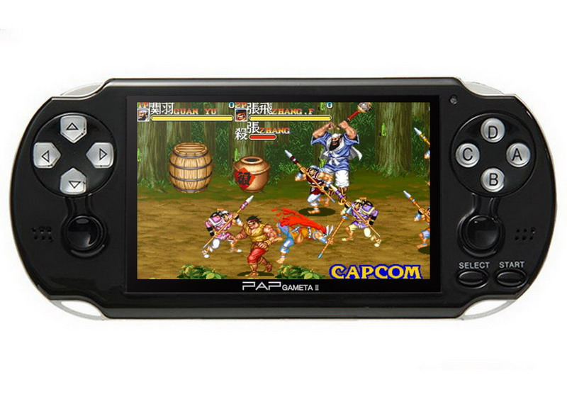 HTB12eQtcEgQMeJjy0Fjq6yExFXaC - 4.3'' Video Game Console 64Bit Handheld Game Console Built-in 1300/650 games for GBA/CPS/NEOGEO/SNES/SMD/FC/GBC/SMS/GG mp5