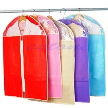 New Home Dress Clothes Garment Suit Cover Bag Dustproof Storage Protector 3 Size(China)