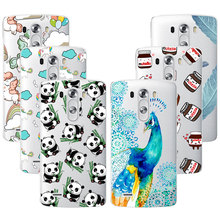 Fashion Soft TPU Case For LG Optimus G3 Transparent Soft Silicone Cover Phone Cases For LG G3 D830 D850 D851 D831 D855