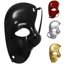 2017 NEW Masquerade Mask Halloween Cutout Prom Party Mask Accessories A814(China)