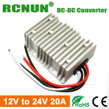 RCNUN Step Up DC DC Converter 12 Volt to 24 Volt 20 Amps Boost Power Module 12V-24V 480W Car Power Supply