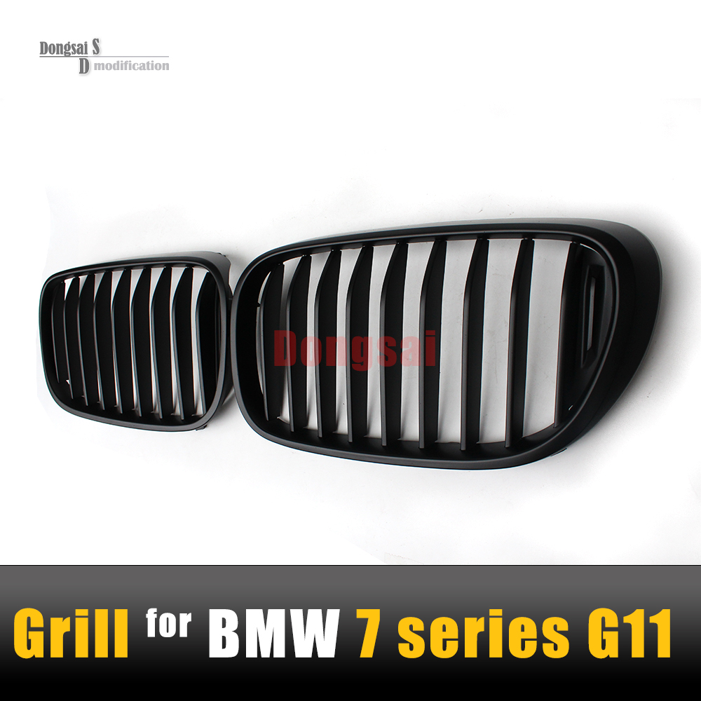 7 Series G11 Quality ABS Matte Black M Performance Look Grill 1 - Slat Grlle For BMW G12 Front Bumper Replacement Hood 2015+<br><br>Aliexpress