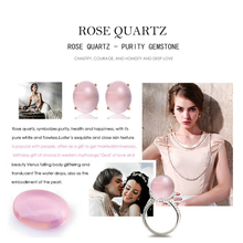 AAA+ Natural Gemstone Rose Quartz Pink Clear Stone - Only Stone LMRQZ(China)