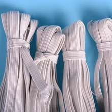 36m/lots 4mm-12mm white Elastic Cord Stretch Thread String Rope CH-1024
