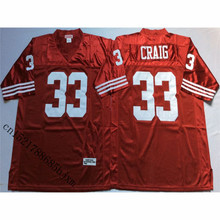 Mens Retro Roger Craig Stitched Name&Number Throwback Football Jersey Size M-3XL(China)