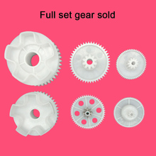 Children's electric car motor gear, kid's toy car metal gear for gearbox,rc car gear plastic gears(China)