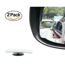 Adjustable Car Blind Spot Mirror 360 Degree rectangle Glass Convex Wide Angle Rear View Mirror Universal for Car SUV Truck