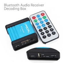 Wireless Bluetooth Audio Receiver Decoding Box Preamp Amplifier Power Isolation Process Remote Control Free Shipping