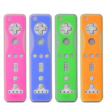 Double Color Silicone case For Wii Nunchucks Controller Protective Cover For Wii Remote Joystick Free Shipping