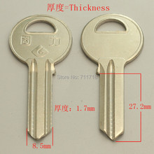 A230 Wholesale Locksmith Keymaster Brass House Home Door Blank Empty Key Blanks Keys