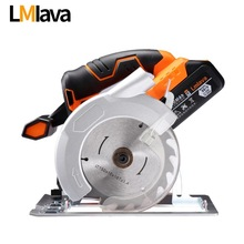 21V Cordless Circular Saw electric power tools with High Capacity lithium Li-Ion Battery and Charger(China)