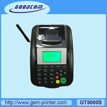 Multifunction POS Receipt Printer supports SMS, GPRS, USSD and STK for online ordering, Mobile recharge, Lottery ticketing, Bus