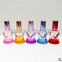 Free Shipping 10pcs/lot 10ML Perfume Bottles Glass Sample Perfume Bottles Travel Comesitc Spray Glass Package Perfume Vials