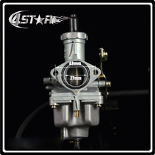Cable Choke PZ27 27mm Carb Carburetor + Air Filter For 140cc 160cc 200cc Motorcycle Pit Dirt bike ATV Quad Motocross