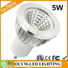 10X COB GU10 LED Dimmable Spotlight 5W 7W 9W GU10 Led Lamp GU 10 Spotlight Warm White Bulb Energy Saving CE RoHS