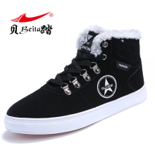 Beita Winter Warm Men Boot Running Shoes For Men Male Athletic Sport Sneakers Men Outdoor Shoes With Fur Lace-up Walking Shoes