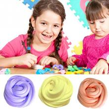 Kids Anti-stress Toys Butter Slime Clear Slime Glitter Slime Super Light Clay Colorful Soft Polymer Clay(China)