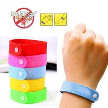 Hot Sale 5pcs/set  Anti Mosquito Bug Repellent Wrist Band Bracelet Insect Nets Bug Lock Camping
