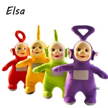 2017 Teletubbies Laa Po Tinky Dipsy Plush Toy Doll Set 4pc/lot Christmas Gifts Children Gifts WJ233