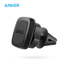 Anker Air Vent Magnetic Car Mount, Highly-Adjustable Phone Holder for iPhone SE / 6 / 6s / 7, Nexus 5X, Moto E, OnePlus X etc(China)