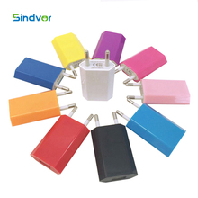 Sindvor 10 PCS Lot Travel Wall Charger Power Adapter EU Plug USB Charger For iPhone 5 5s 6 6s 7 7Plus Sumsung HTC Xiaomi Android(China)