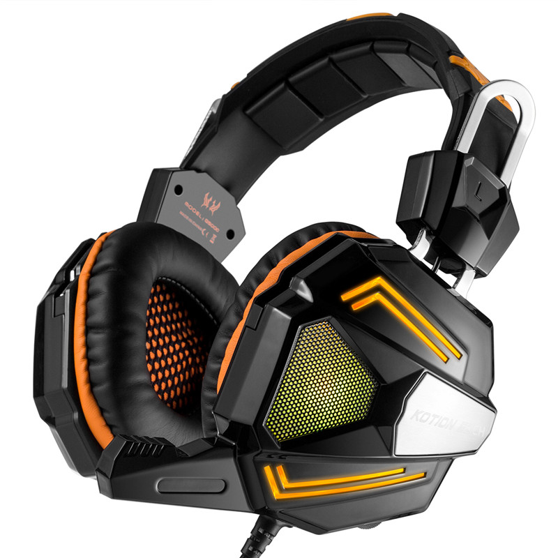professional gaming headphone casque audio bass headset gaming earphone With Noise Cancelling mic LED Light for computer gamer<br><br>Aliexpress