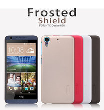 Nillkin Frosted Shield Cell Phone Case for HTC Desire 626 Case 626G/626 G Dual Sim Hard Back Cover matte Capa + Screen Protector(China)