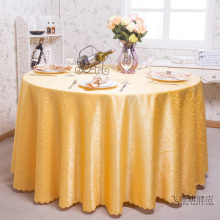 100% Polyester Round Table Cloth Pattern Fabric Multi-functional Cloth Tablecloth Machine Washable Wedding Table Cloths