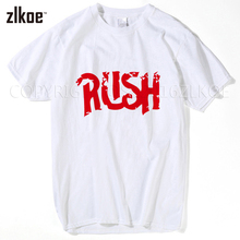 Hot New 2017 Summer Fashion T Shirts Men Short Sleeve Rush Printing T-Shirt cool Design Online XXXL