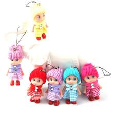 1PC Mini Fashion Doll Best Toy Gift for Girl Confused Doll Key Chain Phone Pendant Ornament