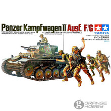 OHS Tamiya 35009 1/35 German Panzer Kampfwagen II Ausf F/G Military Assembly AFV Model Building Kits(China)
