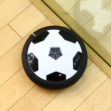 Soccer LED Light Suspended Football Game Toy Electric Lighting Air Cushion Football Sports Toy Indoor Outdoor Football Field Toy
